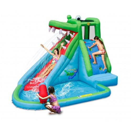 Crocodile Creek 11.5ft Inflatable Waterslide