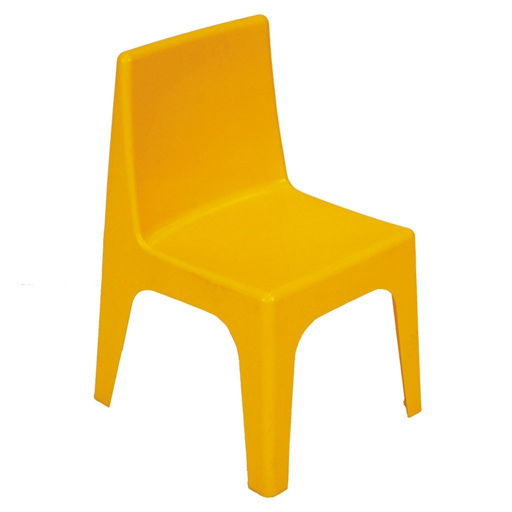 Jolly Kidz Set of 4 Kids Chairs - Yellow