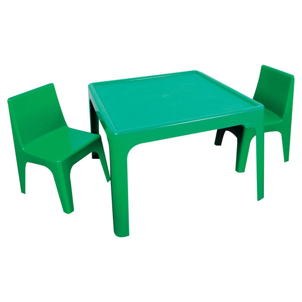 Jolly Kidz Table & 4 Chair Set - Green