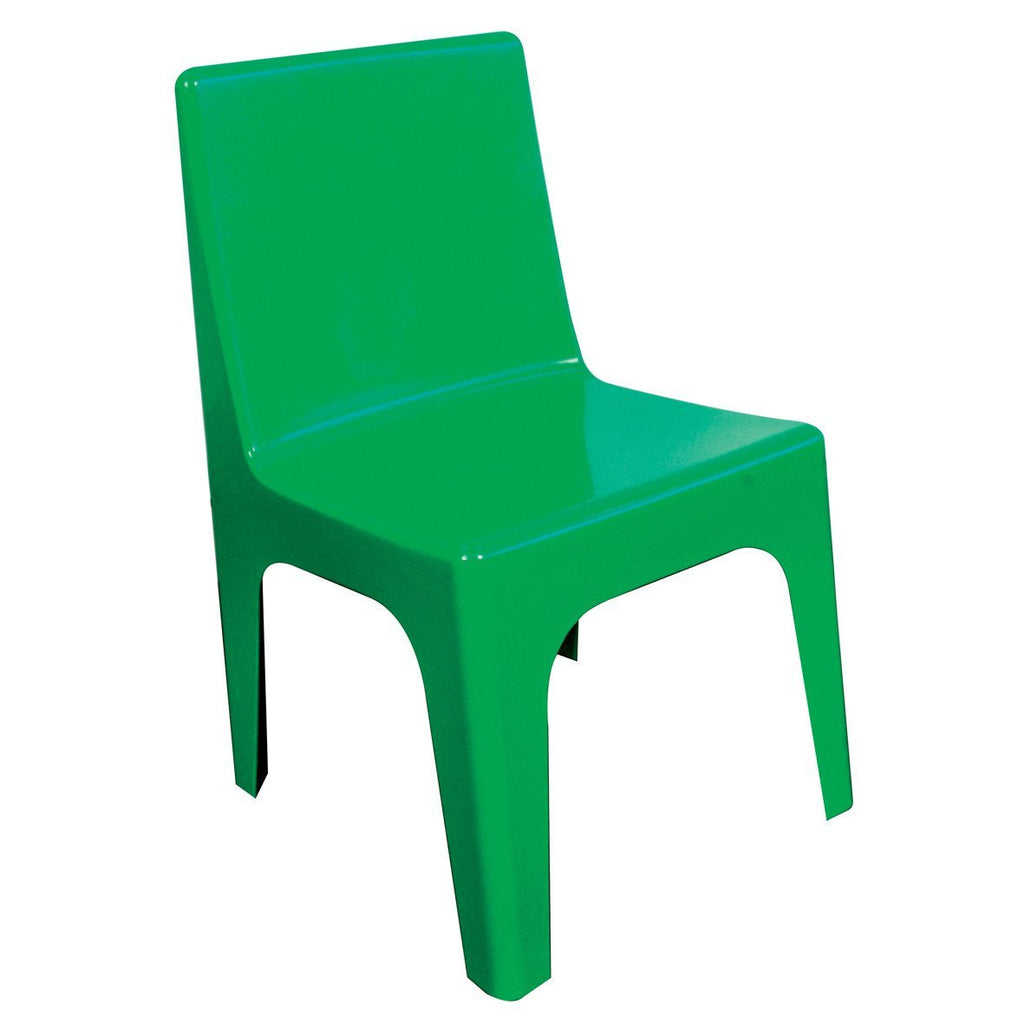 Jolly Kidz Set of 4 Kids Chairs - Green