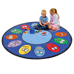 Learning Carpets 'Expressions' Learning Rug - Round