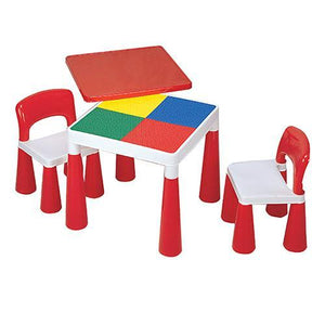 2-in-1 Activity Table & 2 Chairs
