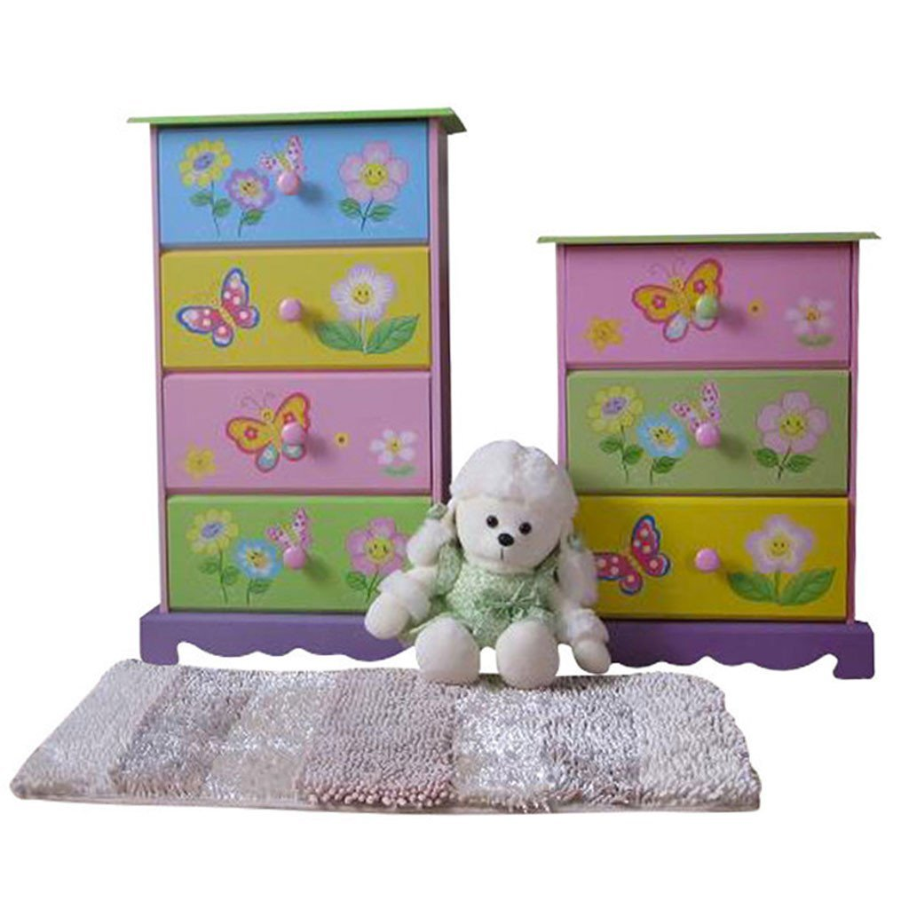 Liberty House Toys 'Butterfly Garden' 3-Drawer Storage