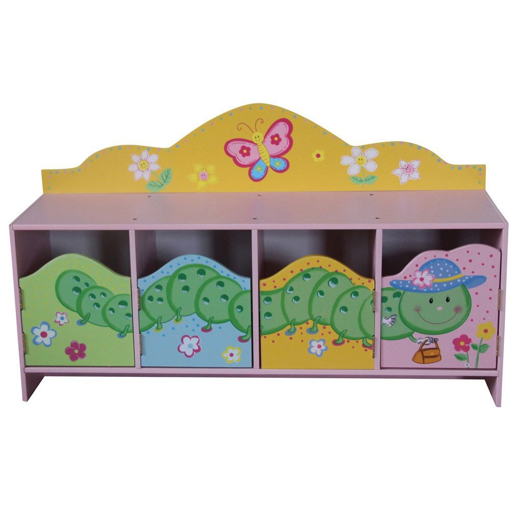 Liberty House Toys 'Butterfly Garden' 4-Door Cabinet