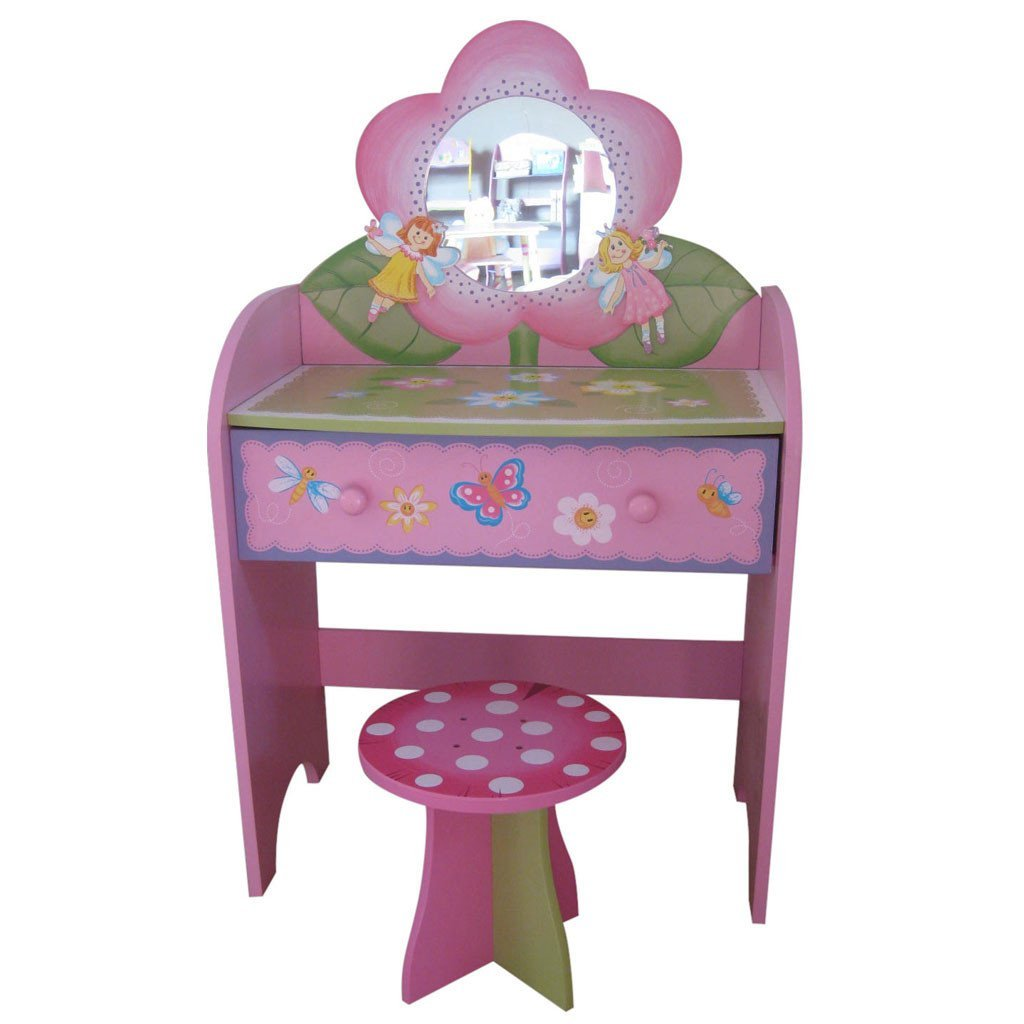 Liberty House Toys 'Fairy' Dressing Table & Stool