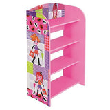 Liberty House Toys 'Fashion Girl' 4-Tier Bookshelf