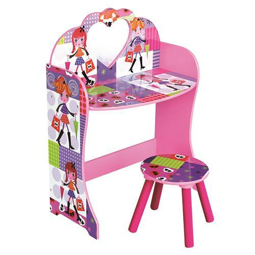 Liberty House Toys 'Fashion Girl' Dressing Table & Stool