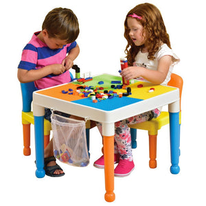 Multipurpose Activity Table U0026 Two Chairs With Storage Bag