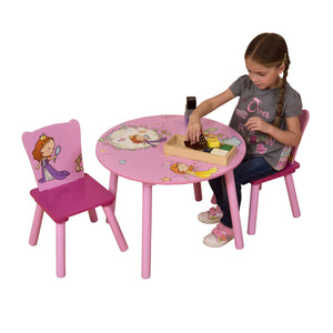 Princess Round Table & 2 Chairs Set