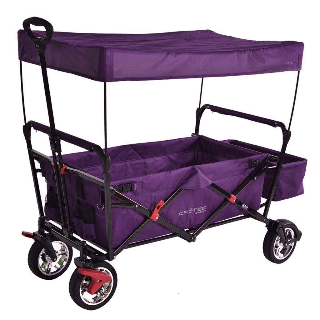 Original Crotec Wagon with Shade Canopy CT500