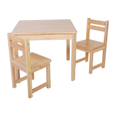 Boss Table & Chairs Set - Natural