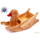 Wooden Rocking Duck