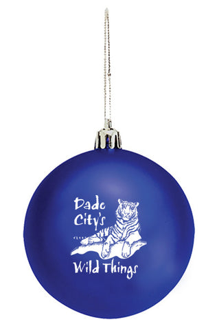 Wild Things Blue Ornament