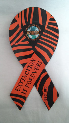 Extinction Is Forever Ribbon Magnet