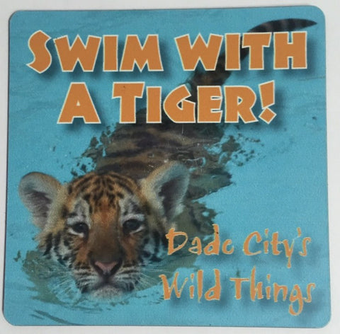 Swim With A Tiger Magnet