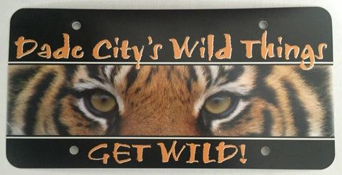 Wild Things Car Tag
