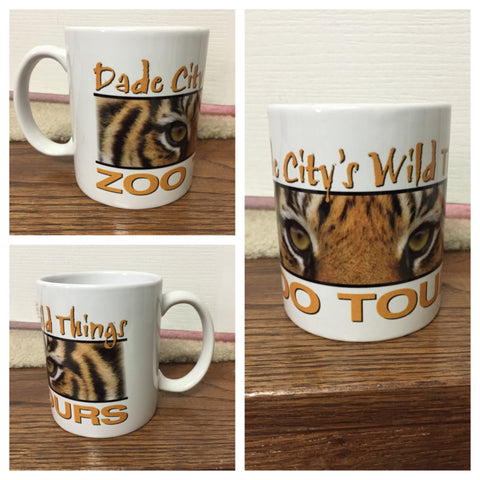 Wild Things White Mugs