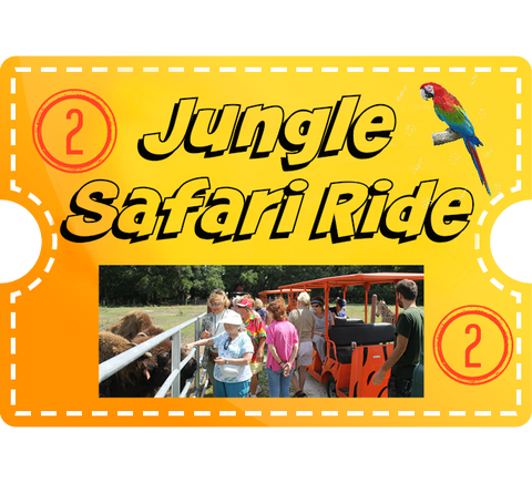 Jungle Safari Ride & 2 Encounters - Adult