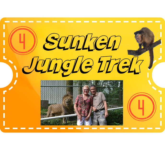 Sunken Jungle Trek & 4 Encounters - Senior (55+)