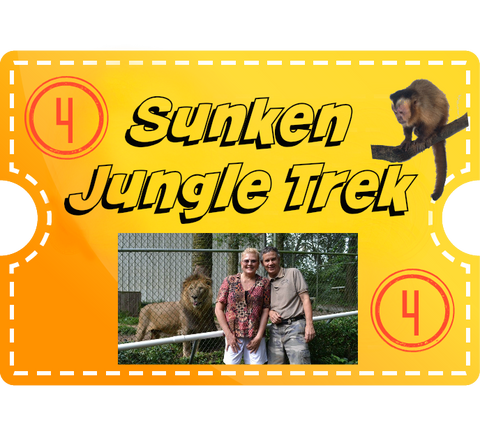 Sunken Jungle Trek & 4 Encounters - Adult