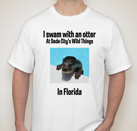 Swim with a otter T Shirt