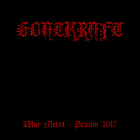 "Goatkraft: "" War Metal - Promo 2017"" Tape"