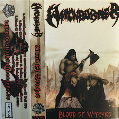 "Witchburner: ""Blood of Witches"" Cassette"
