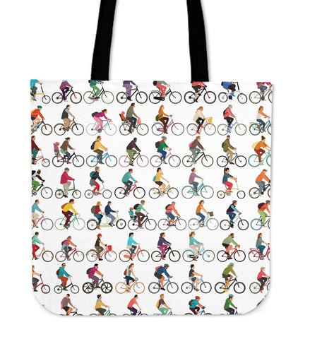 Bicycle Design Tote Bag