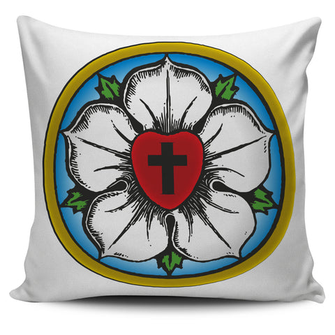 Luther Rose Decorative Pillow Cover