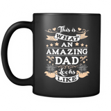 This Is What An Amazing Dad Looks Like Coffee Mug