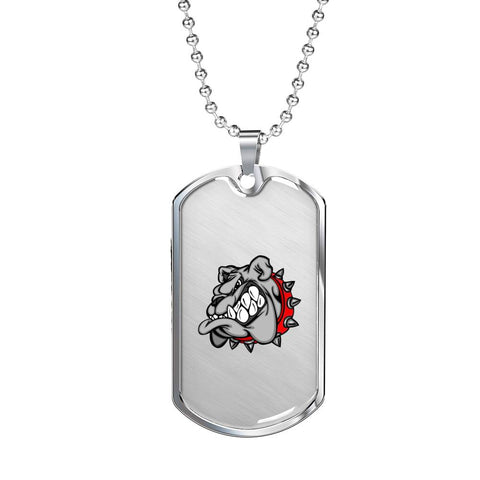 Bulldog Dog Tag