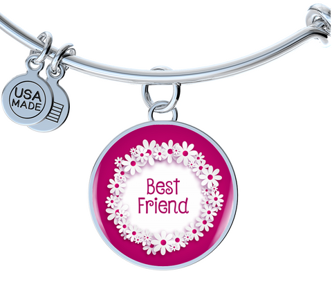 Best Friend Bangle Bracelet