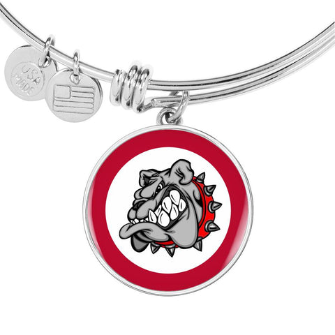 Bulldog Bangle Bracelet