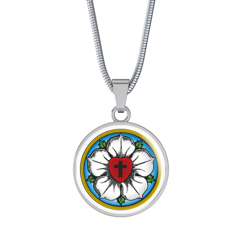 Luther Rose Pendant Necklace