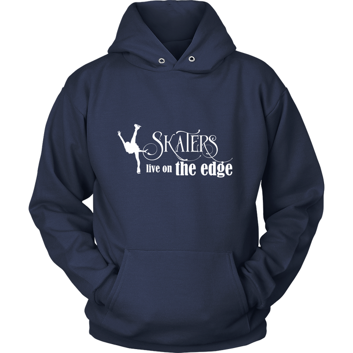 Skaters Live On The Edge Hoodie