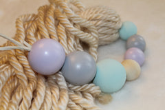 Mini Trio Wooden Bead Garlands | Wood Beaded Garland