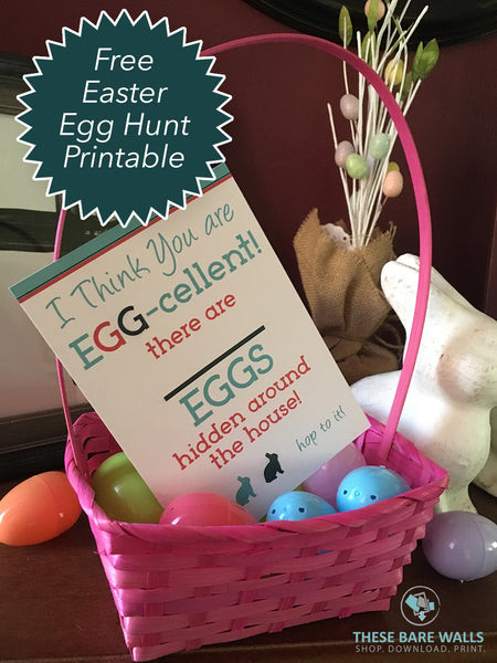 Easter Egg Hunt Print Free