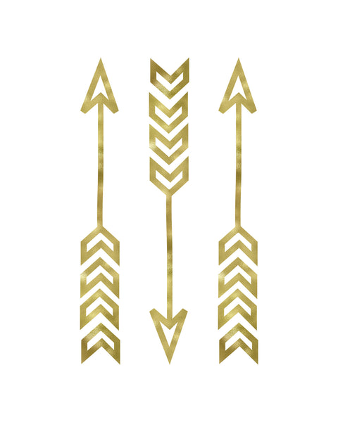 Tribal Arrows Printable Art - Design 3 - These Bare Walls