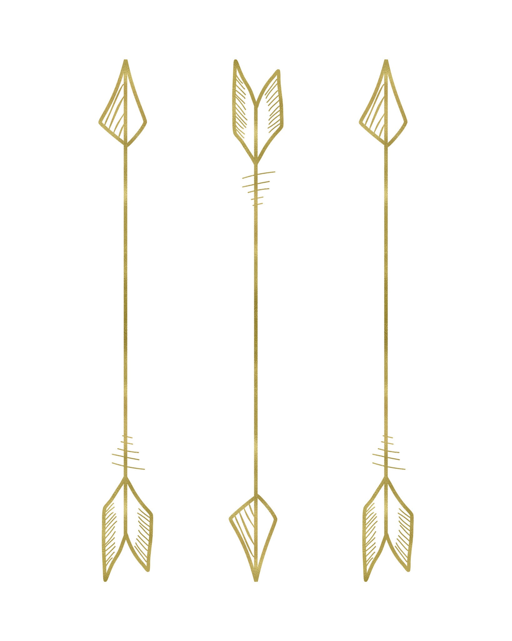 graphic regarding Printable Arrows called Tribal Arrows Printable Artwork - Design and style 4
