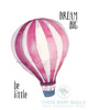 Be Little Dream Big Hot Air Balloon Printable Art - These Bare Walls - 5