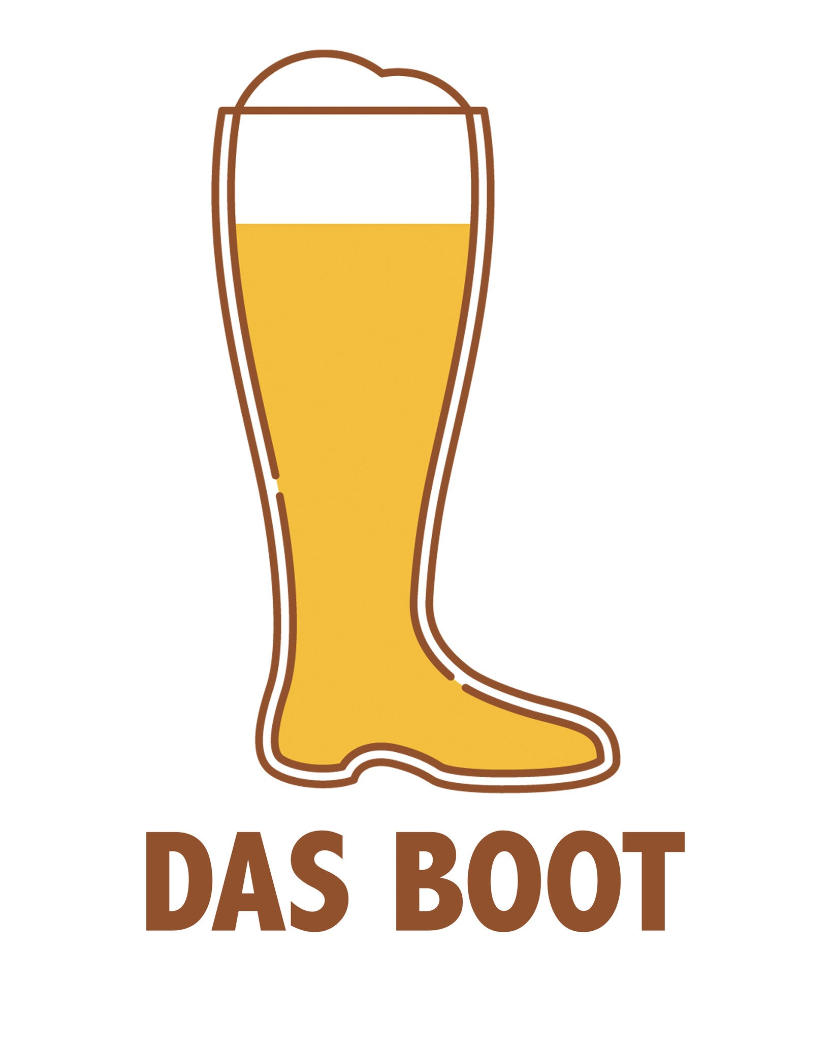 Das Boot Beer Printable Art - These Bare Walls