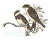 Birds Print - Birds Printable Wall Art - These Bare Walls - 2