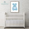 Teddy Bear Printable Wall Art - These Bare Walls - 1