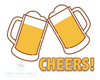 Cheers Beer Print - These Bare Walls - 2