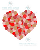 Dotted Valentine Printable Art - These Bare Walls - 2
