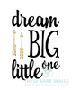 Dream Big Little One Printable Art - These Bare Walls - 2