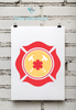 Fire Department | Fireman's Shield Sign