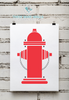 Fire Department | Fire Hydrant Print
