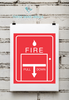 Fire Department | Fire Wall Alarm Print