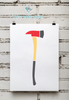 Fire Department | Fireman's Ax Print
